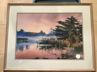"Brent Heighton numbered print.  Framed dimensions 29.5"" x 37.5"" Toronto, M2R 2L7"