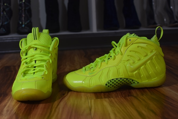 3d8c642a26e Used Nike Air Foamposite Pro Volt Size 6Y for sale in ATLANTA - letgo