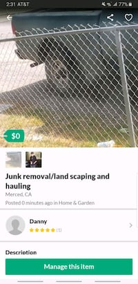 Junk removal Merced