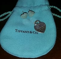 Tiffany & Co 925 Earrings and Pendant Gaithersburg, 20878
