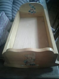 HAND CRAFTED DOLL BED