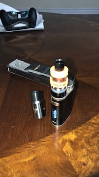 Pico 75w with aspire cleito and a rda, both tanks come with extra coils