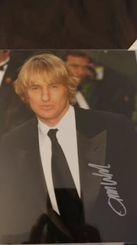 Owen Wilson.. 8x10 Hand signed in person Yonkers, 10704