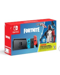 Nintendo Switch Fortnite Double Helix Bundle with Super Mario Odyssey and case 44 km
