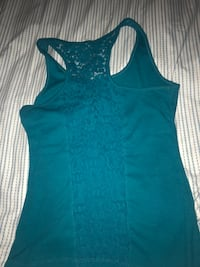 Teal tank top NEGOTIABLE