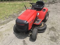 Red and black ride on mower Palm Coast, 32137
