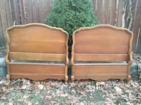 Delivery - pair of antique French country twin beds  Toronto, M9B 3C6