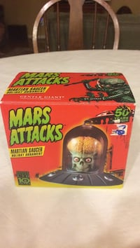 black and green Mars Attacks martain saucer box Lorton, 22079