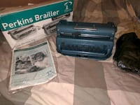brand new !!!Perkins brailler navy blue!! $350 obo Fort Myers, 33912