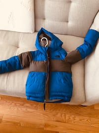 Blue and grey boy winter jacket-4T Mississauga, L5M 6G5