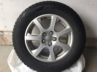 Winter tyres and Alloy rims (Audi Q5)