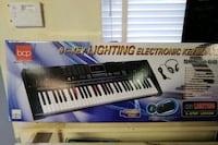 black and white electronic keyboard Cincinnati, 45224