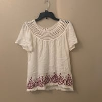 Embroidered blouse  Brownsville, 78520