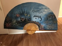 6 foot decorative painted fan Yelm, 98597