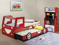 Fire Truck Car Bed null