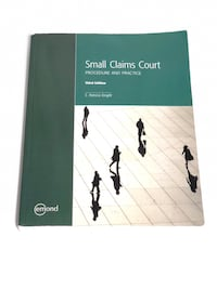 Small Claims Court Procedure And Practice  Mississauga, L5A