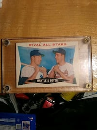Mantle and Boyer All-Star card Louisville, 40258