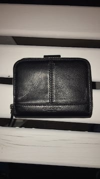 Authentic black leather coach wallet  Windsor, N8N 5A1