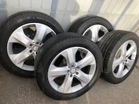 [TL_HIDDEN]  H Four used Michelin tires on rims Toronto