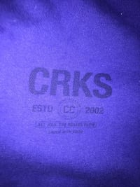 Crooks and Castles Blue Sweater Size M