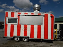 Food concession trailer