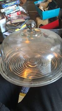 clear glass bowl with lid Augusta, 30904