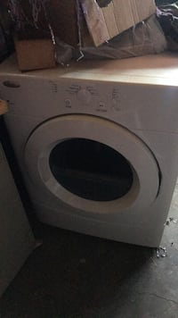 white front-load clothes washer Arlington, 76010