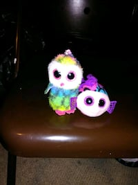 Owl And A Fish Ty Key chains