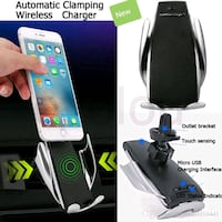 Automatic Clamping Wireless Car Charger $30 30 Mississauga, L5W 0E7