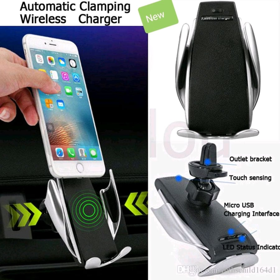New Car wireless charger Holder