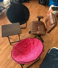 3 Chairs + 1 Side Table