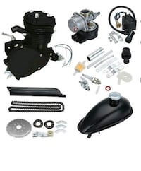 Brand new 80cc bicycle motor kit