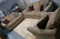 Briwn 3pcs living room set Mississauga, L5A 1Y5