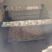 different coloured pattern playpen FREDERICTON