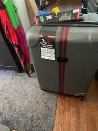 IT suit cases.  Both for $50 Toronto, M5G