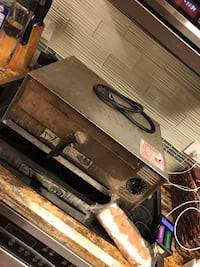 Wisco commercial pizza oven 1207 mi