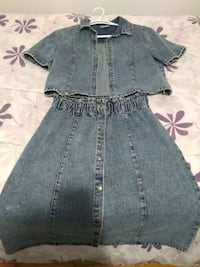 Medium denim outfit new  Montreal, H3W 1K8