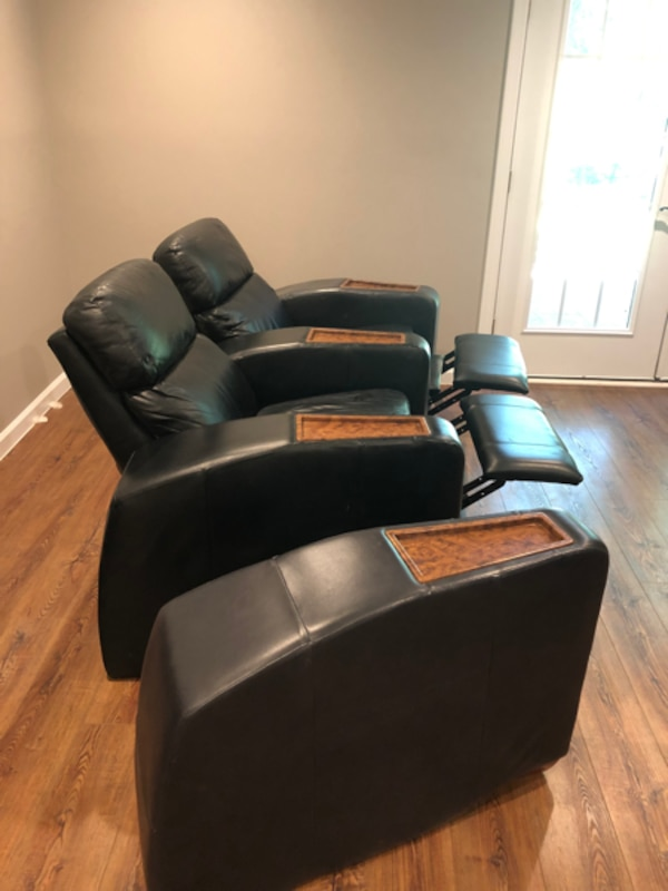 Leather lazy recliners