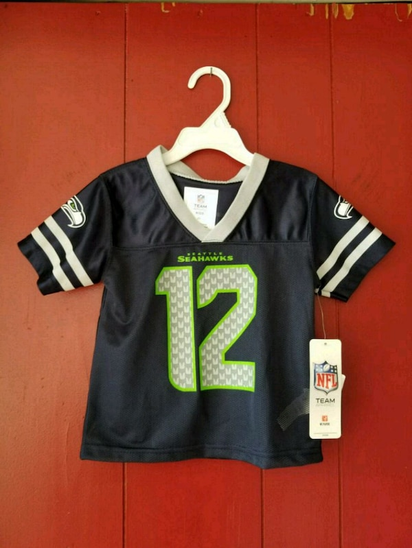 newest c5b84 35891 Seattle Seahawks toddler jersey