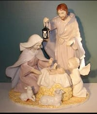 Always & Forever Collectible Figurine Scene Jesus NEW in box 17067