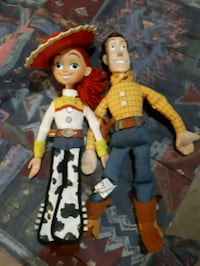 woody and jesse action dolls Stratford