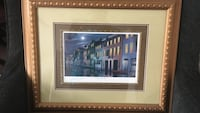 multicolored painting of buildings with brown frame Moncks Corner, 29461