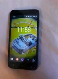 Alcatel smart phone w/ portable charger