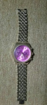 Accutime Watch Corp with purple face Pleasantville, 50225