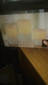 Tuscany  candles with remote  Columbus, 43227
