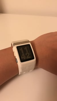 white smartwatch with white strap Los Angeles, 90026