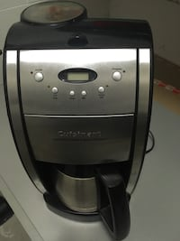 Cuisinart coffee machine, with grinder Toronto, M5A 1M6