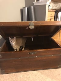 Giant Wooden Chest Sterling