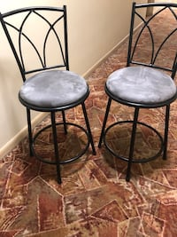 High top table with two chairs  Silver Spring