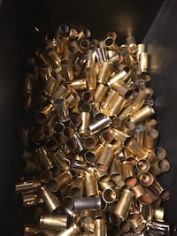 Over 300 pcs of .40 brass. All once fired 600 km